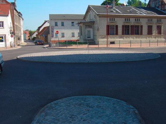 Kreisverkehr, Burg
