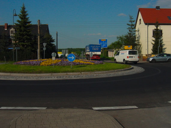 Kreisverkehr, Grimma