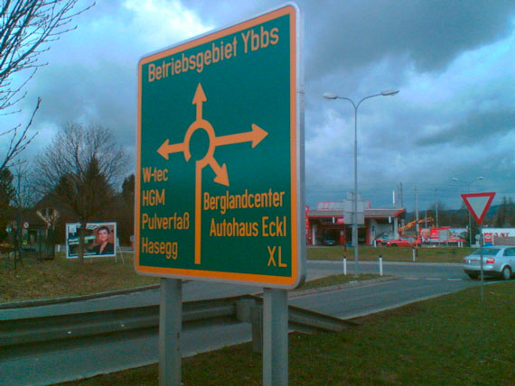 Kreisverkehr, Ybbs